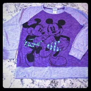 Disney - Mickey and Mini Mouse - long sleeve t